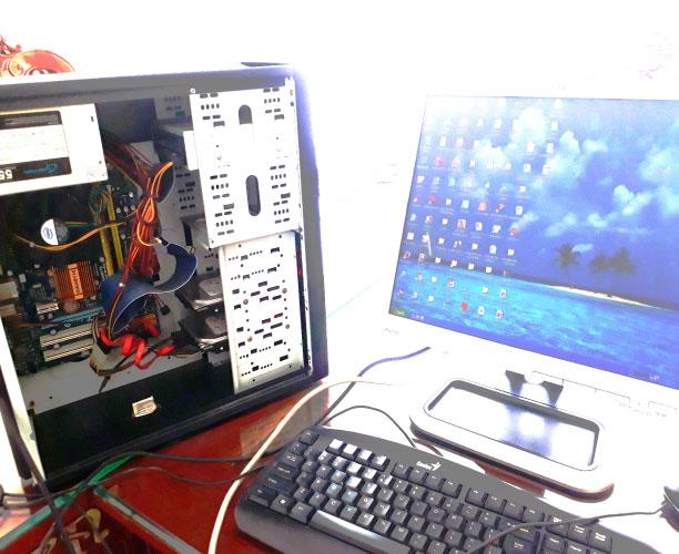 quy trình sửa chữa máy tính
