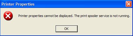 máy tính không kết nối được với máy in