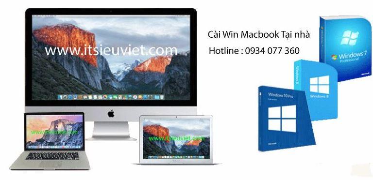 cài win macbook, imac tại nhà quận 5 giá rẻ