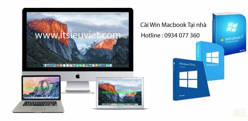 cài win macbook, imac tại nhà quận 10 nhanh chóng, uy tín, giá rẻ