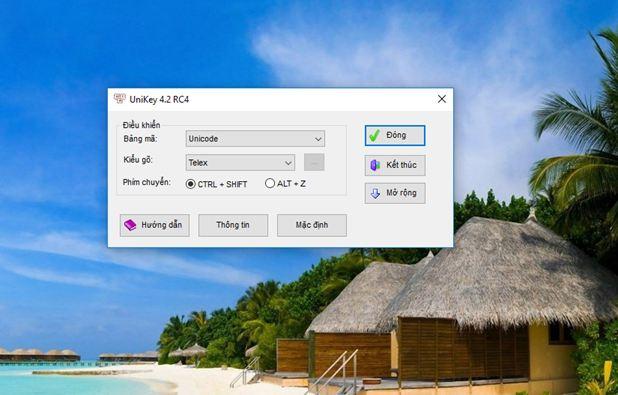 phần mềm unikey những phần mềm thông dụng trong windows