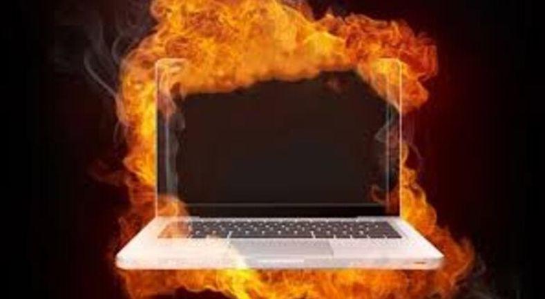 lỗi máy tính reset vì quá nóng