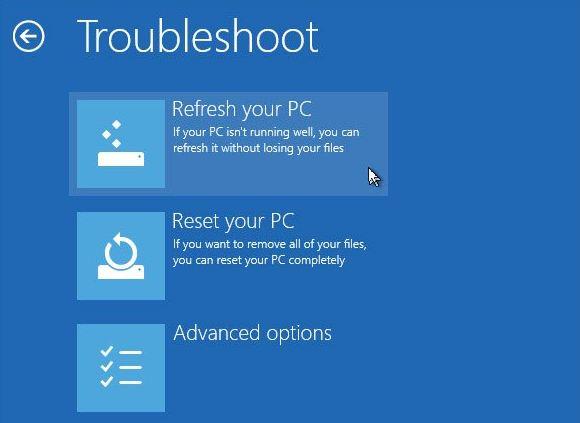 Phương thức Repair trên Windows 8/8.1/10 để máy tính lỗi Win và cách khắc phục hiệu quả