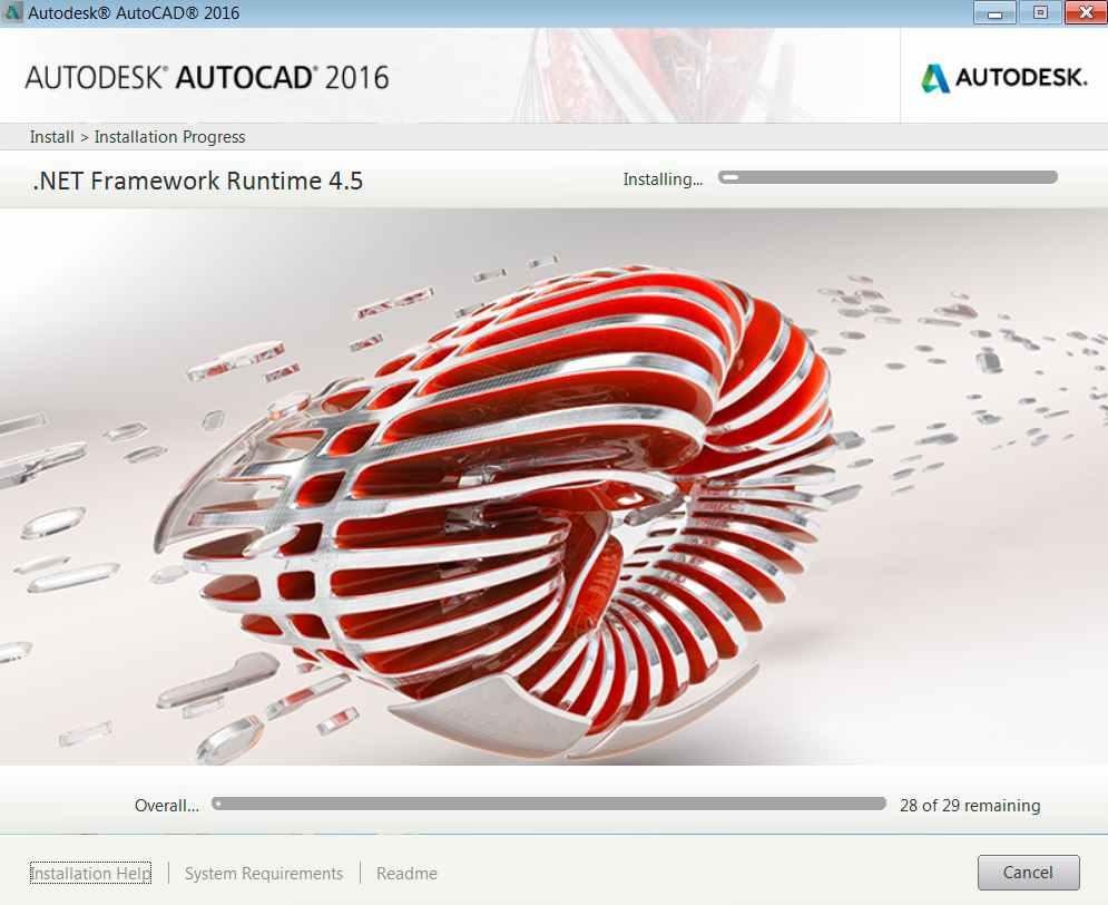chi tiết cách cài đặt Autocad 2016 Full crack
