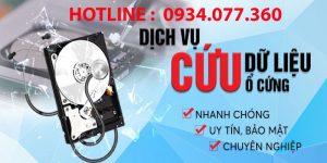 Tiếp nhận yêu cầu cứu dữ liệu qua hotline