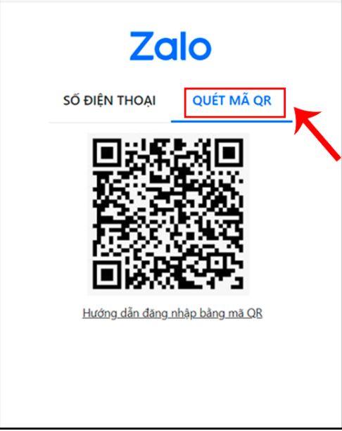 cách đăng nhập zalo trên máy tính bằng cách quét mã QR