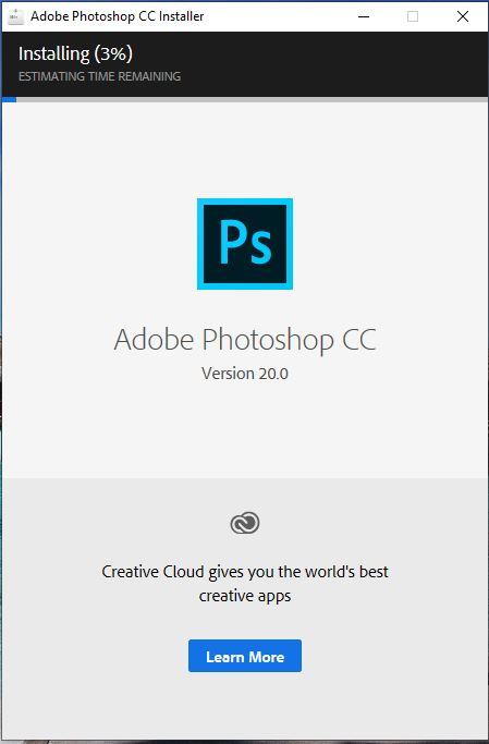 cài đặt và crack photoshop cc 2019 thành công 100%