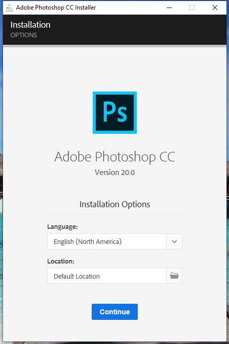 hướng dẫn chi tiết cách cài photoshop cc 2019