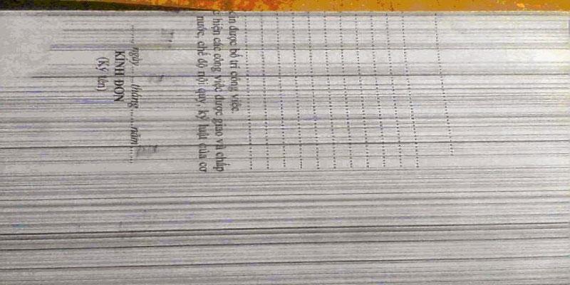 lỗi máy photocopy xuất hiện các lỗi sọc trên bản in