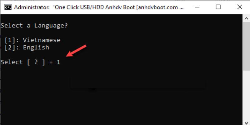 tạo usb boot đa năng bằng anh-dv-boot đơn giản nhất