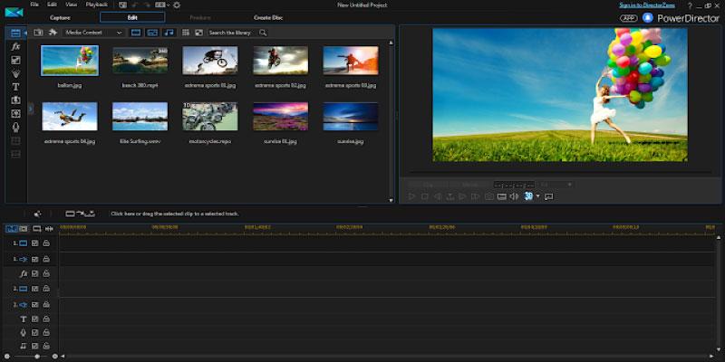 Phần mềm chỉnh sửa, biên tập video Cyberlink PowerDirector 15 Ultimate