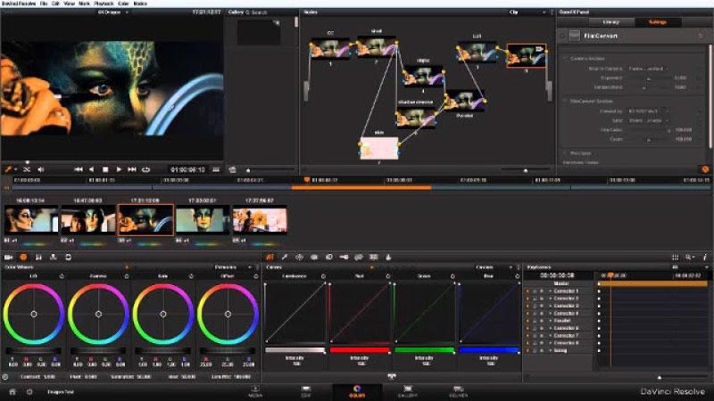 Phần mềm chỉnh sửa, biên tập video DaVinci Resolve