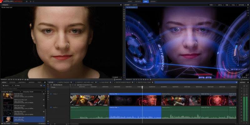 Phần mềm chỉnh sửa, biên tập video Hitfilm Express