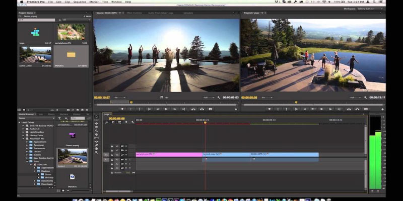 Phần mềm chỉnh sửa, biên tập video Adobe Premiere Pro