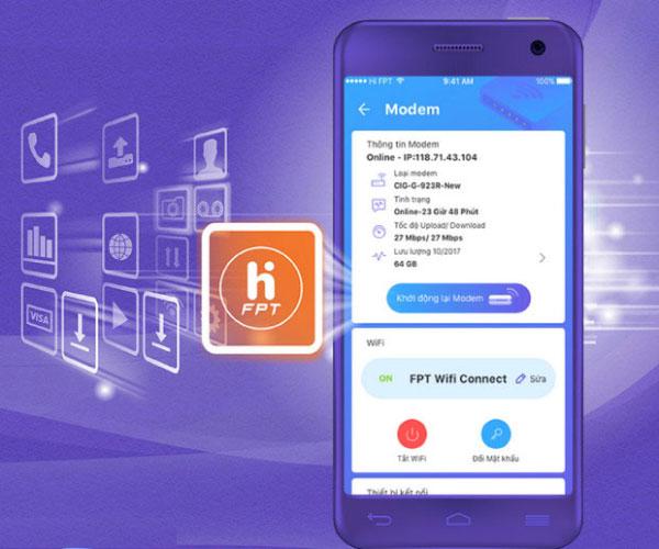 hướng dẫn Đổi mật khẩu wifi trên điện thoại mạng FPT