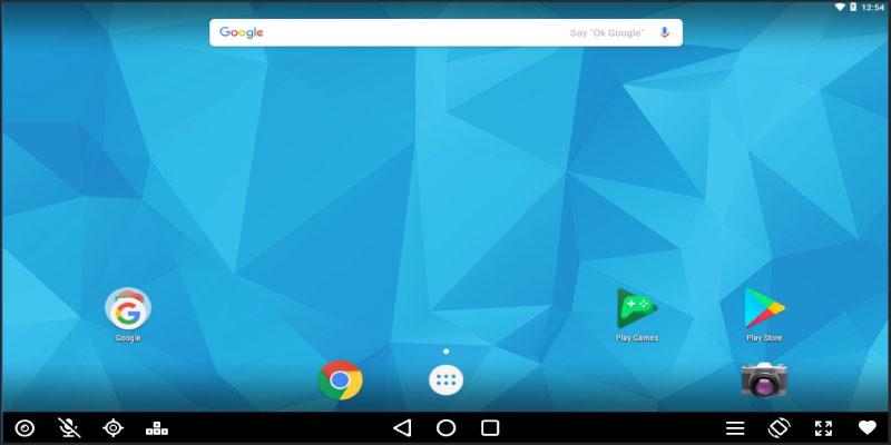 Ứng dụng giả lập Android Andy chuyên nghiệp