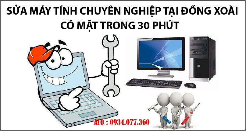 Tin học Siêu Việt chuyên sửa máy tính tại nhà Đồng Xoài, Bình Phước