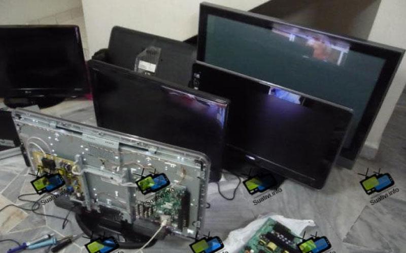 Quy trình sửa chữa tivi tại nhà khoa học