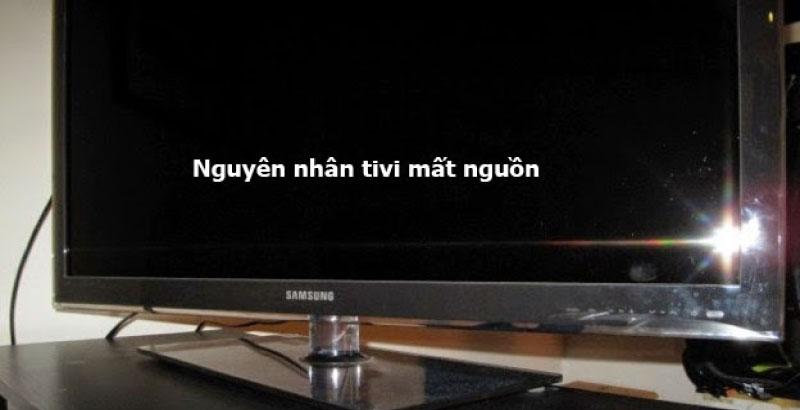 Lỗi tivi bị hư nguồn khi sửa tivi tại quận 8 khá phổ biến hiện nay