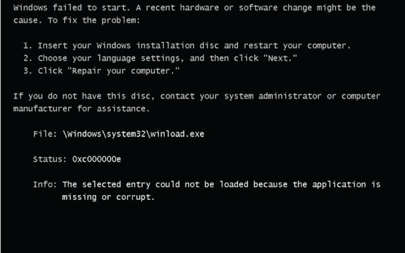 Việc lỗi Windows xuất phát từ nhiều nguyên nhân khác nhau