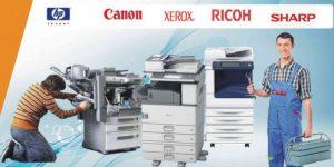 Nhân viên kỹ thuật Tin Học Siêu Việt nhanh chóng có mặt chỉ trong 20 phút để sửa máy photocopy tận nơi cho khách hàng