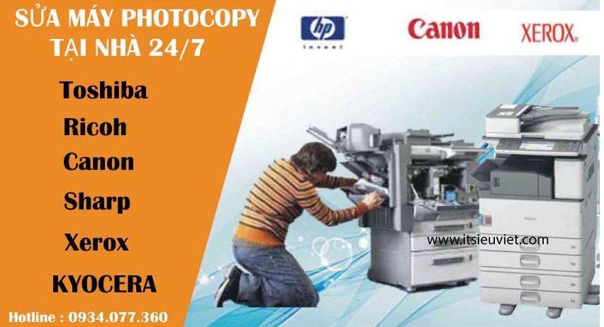 Dịch vụ sửa máy photocopy tại quận 5, chuyên nghiệp, nhanh chóng uy tín hàng đầu TP.HCM