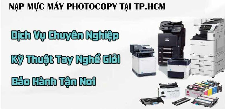 Dịch vụ nạp mực máy Photocopy tại quận 11 của Tin Học Siêu Việt có giá rẻ nhất thị trường