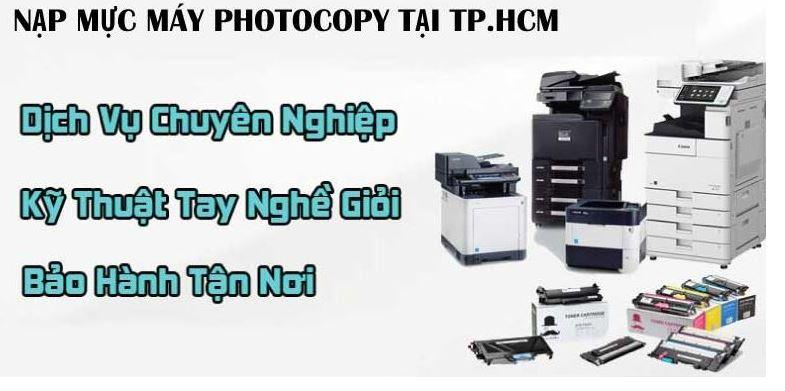 Tin học Siêu Việt cung cấp dịch vụ nạp mực máy photocopy, máy in tại nhà quận 12 giá rẻ