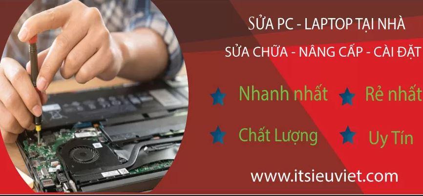 Sửa laptop tại nhà uy tín, giá rẻ hàng đầu tphcm