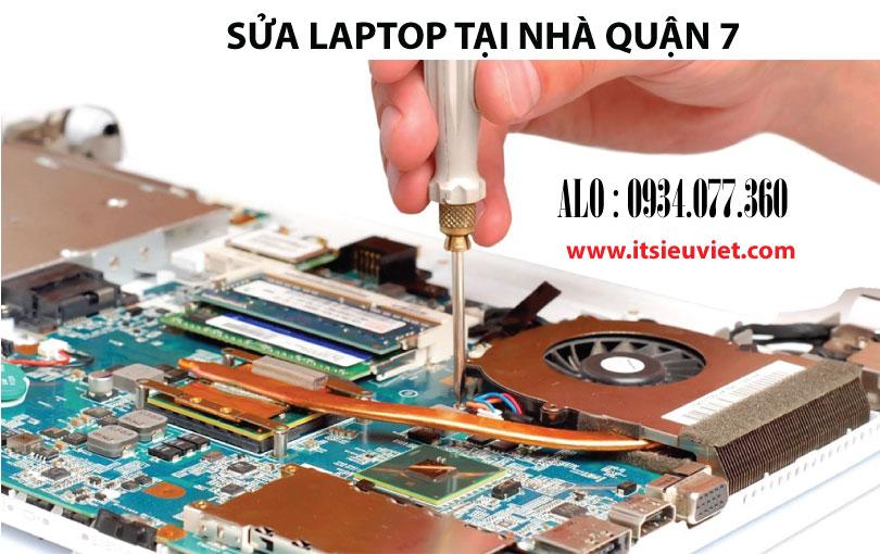 Sửa laptop tại quận 7, dịch vụ sửa chữa uy tín, chuyên nghiệp có mặt tận nơi 30 phút
