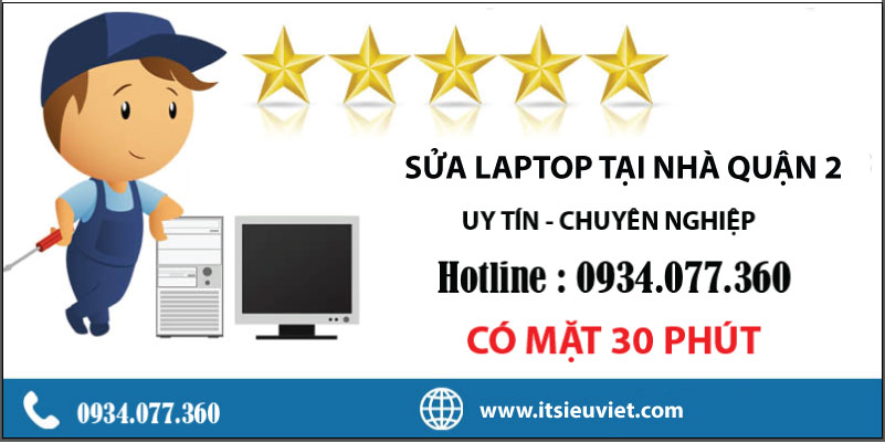 Dịch vụ sửa laptop tại quận 3, nhanh chóng, giá rẻ