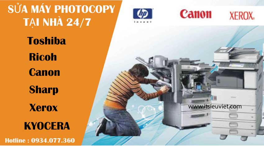 Dịch vụ Sửa máy photocopy tại quận 8, nhanh chóng, giá rẻ, chuyên nghiệp