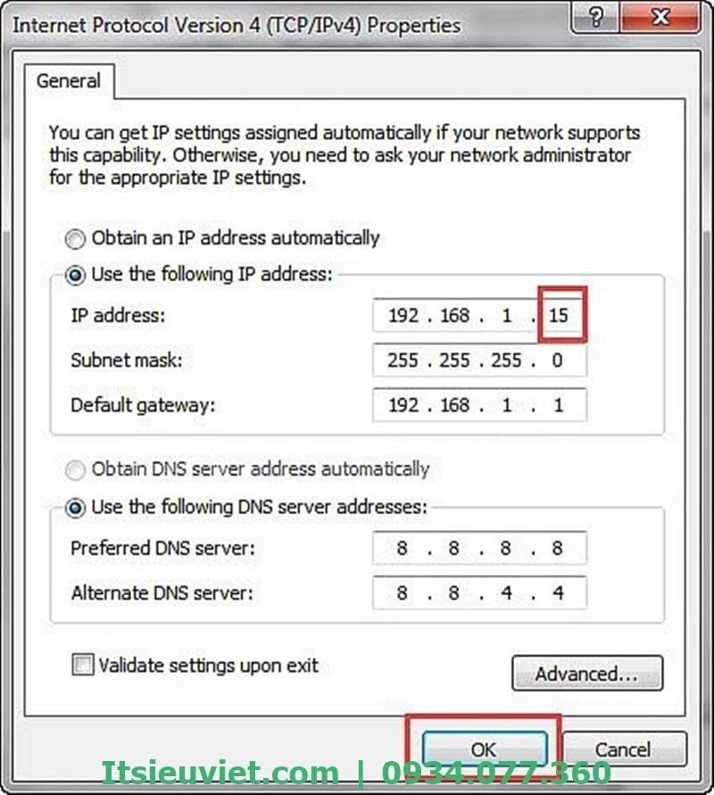 Nếu máy in không nhận lệnh in của máy tính do lỗi IP thì bạn phải thực hiện cài đặt lại IP