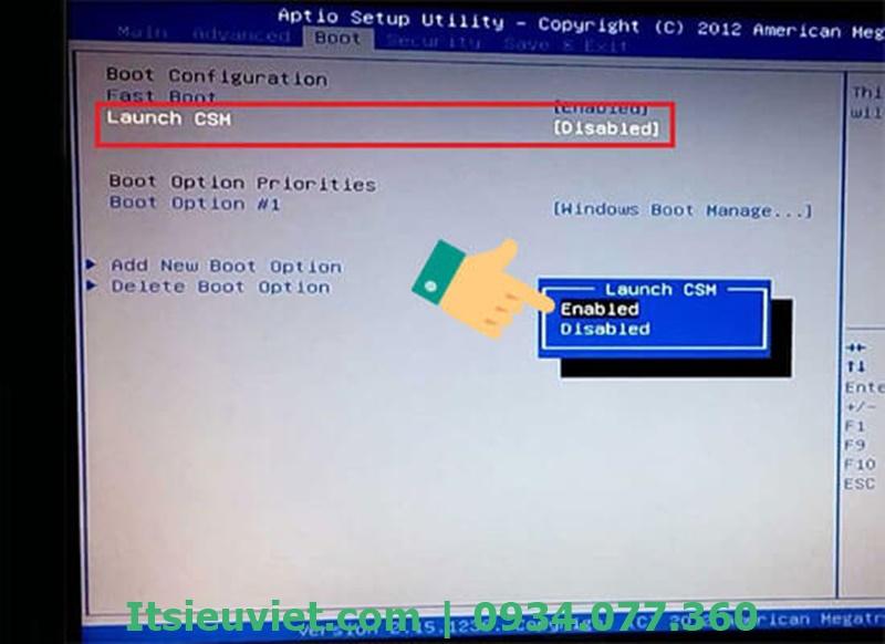 hướng dẫn sửa lỗi máy tinh không nhận USB Boot