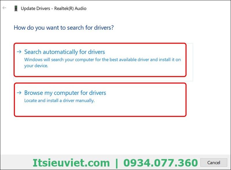 Sau khi cập nhật lại Driver, bạn thử nghe một đoạn âm thanh để kiểm tra hiệu quả