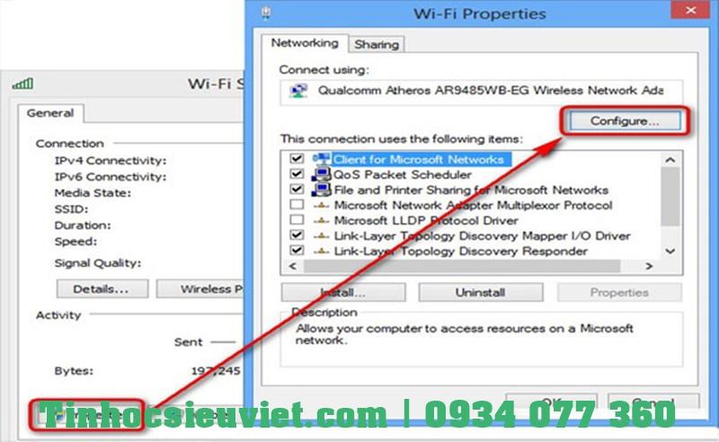 hướng dẫn từng bước để sửa lỗi máy tính win 7 không kết nối wifi nhé