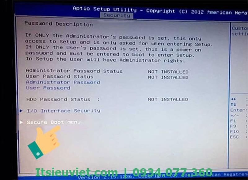 Sửa lỗi máy tính không nhận USB Boot