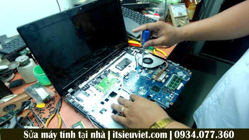 Hình ảnh khách hàng sửa laptop tại quận Tân Phú - IT SIÊU VIỆT