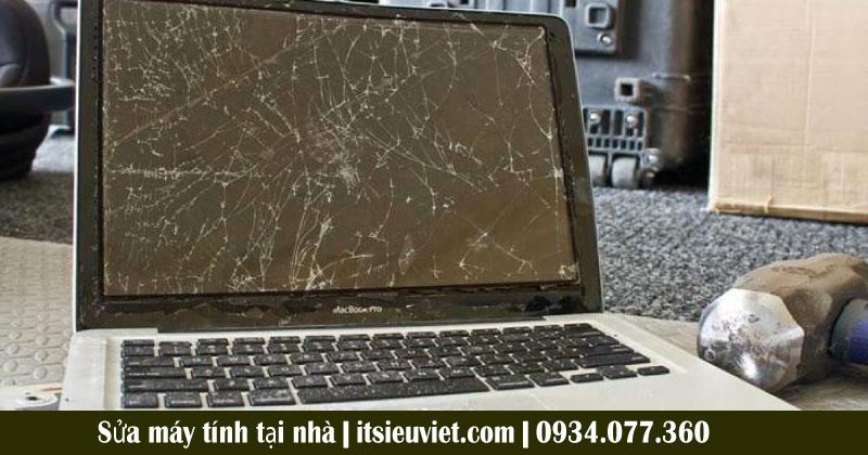 Hình ảnh thực tế sửa laptop tại nhà của khách hàng IT SIÊT VIỆT