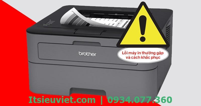 Lỗi máy in Brother HL-l2321D thường gặp và cách xử lý, máy in báo lỗi Replace Toner