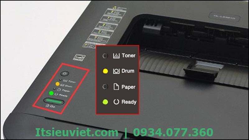 Máy in báo lỗi Replace Toner, nháy 4 đèn cùng lúc rất khó xác định được nguyên nhân đầy đủ và chính xác