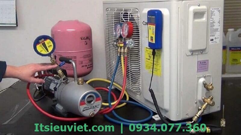 Bơm gas máy lạnh là điều rất cần thiết để máy lạnh hoạt động ổn định