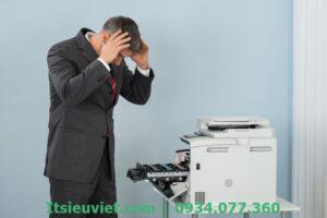 lỗi máy in không in được