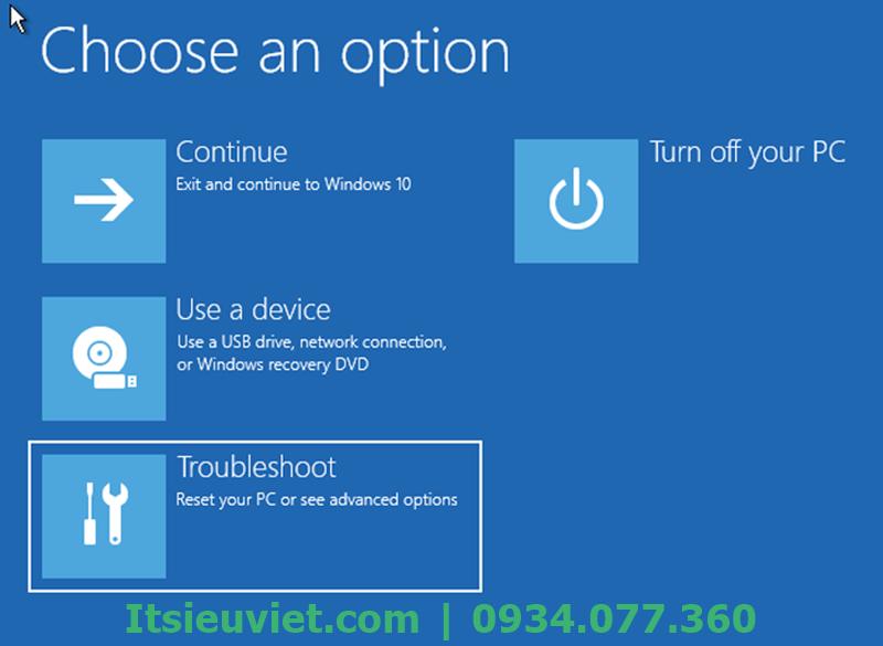 Vào Safe Mode để khắc phục lỗi màn hình máy tính bị xanh