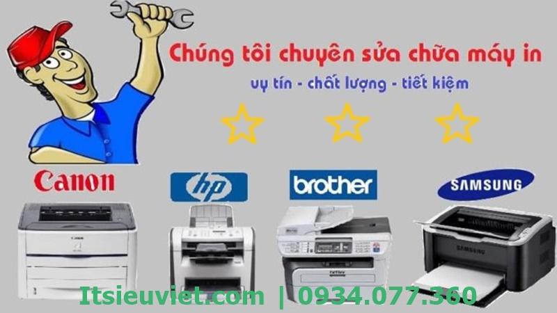 Sửa máy in tại nhà Dĩ An sửa chữa mọi loại máy in hư hỏng chuyên nghiệp, uy tín tại trung tâm sửa chữa hàng đầu IT Siêu Việt