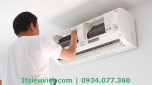 Dịch vụ sửa máy lạnh quận Tân Phú tận nơi của IT Siêu Việt