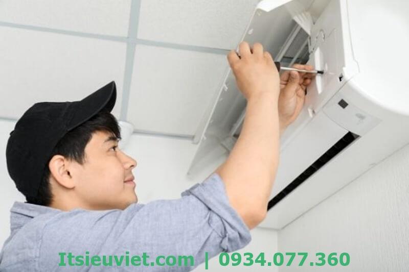 Dịch vụ lắp đặt, sửa máy lạnh tại nhà gò vấp của IT Siêu Việt