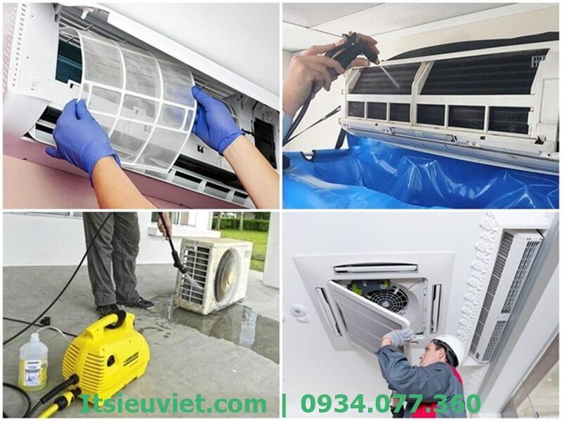 Dịch vụ vệ sinh máy lạnh của IT Siêu Việt