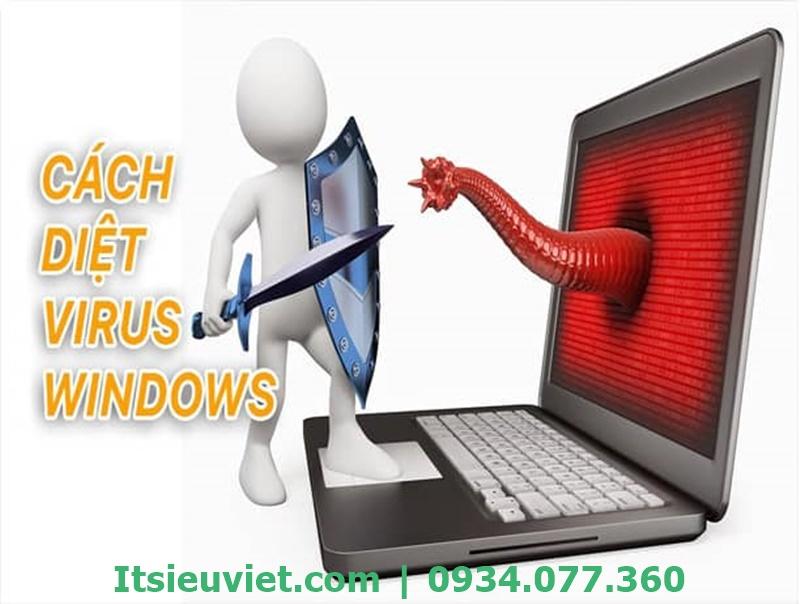 Diệt virus để sửa lỗi máy tính tự tắt